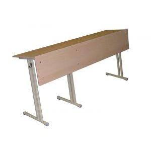 Стол аудиторный трехместный 1800х500х760 (глубина столешницы 400)