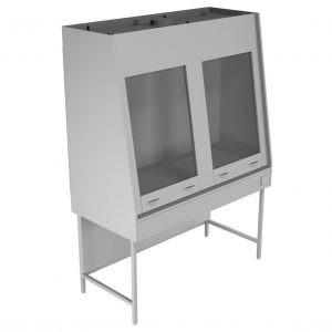 Вытяжной шкаф двухрамный НВ-1500 ШВд-М